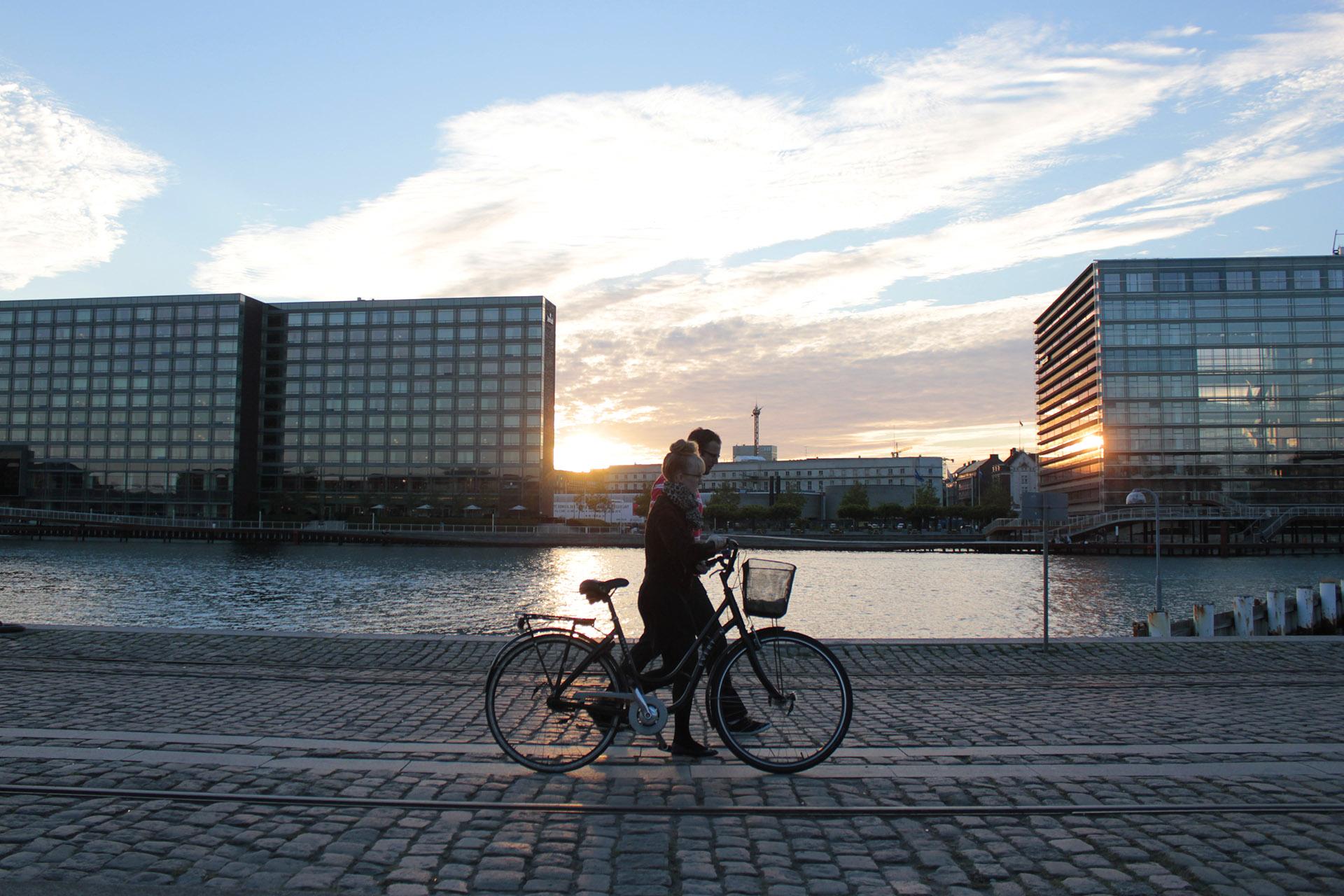 Kopenhaga rowerem, zwiedzanie Kopenhagi