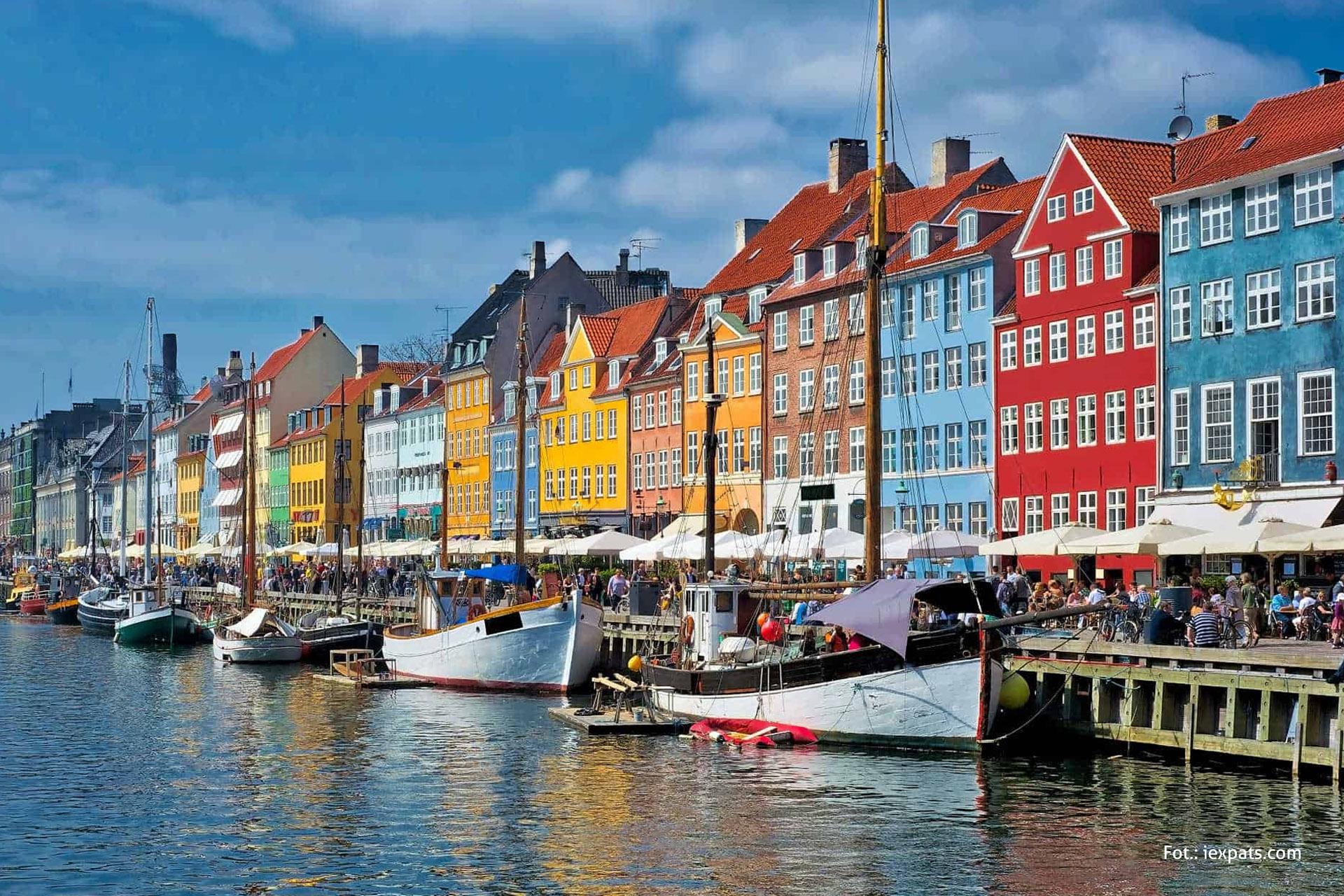 Nyhavn, Kopenhaga, wycieczka doKopenhagi