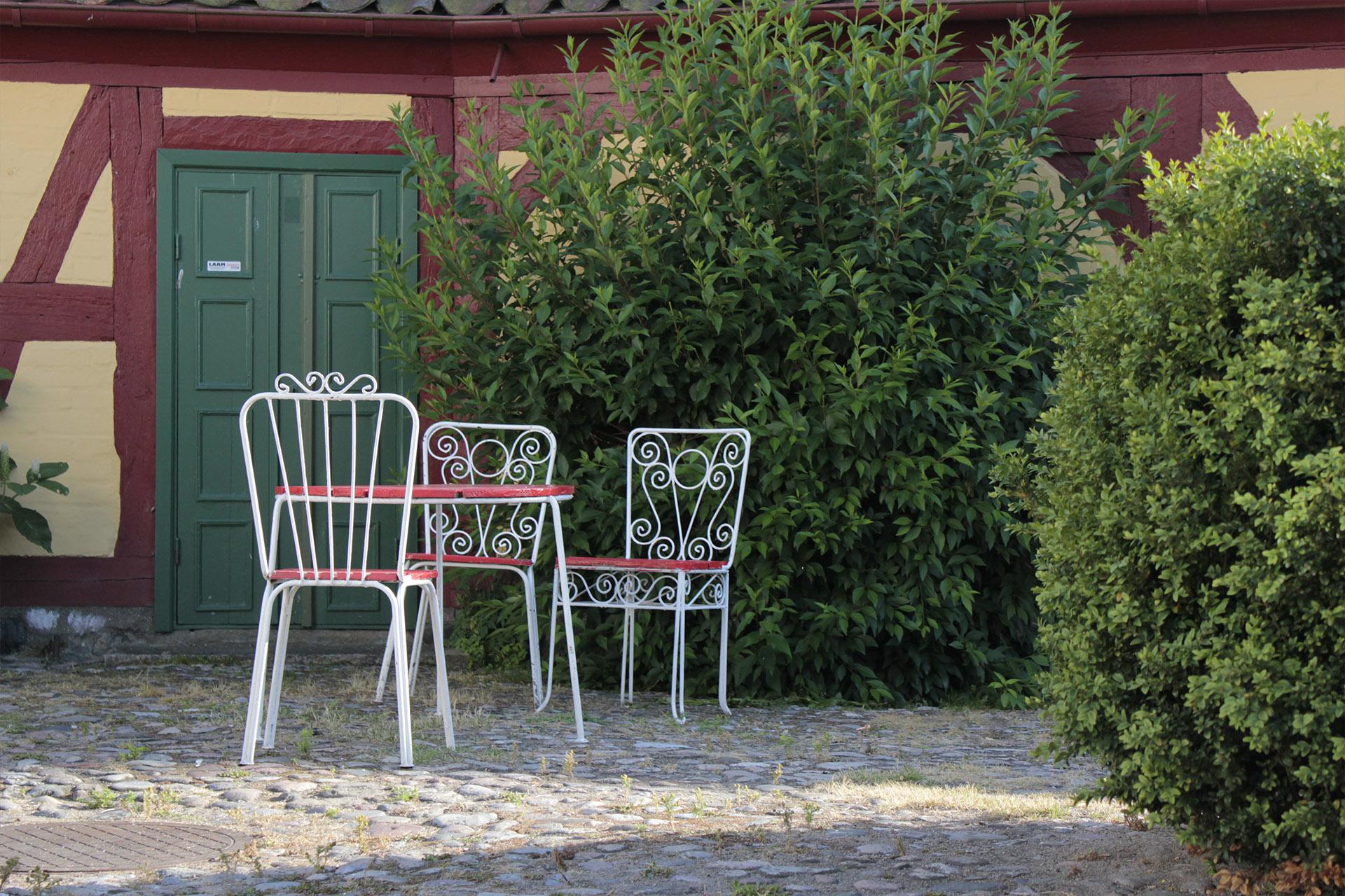 Ystad, krzesełka