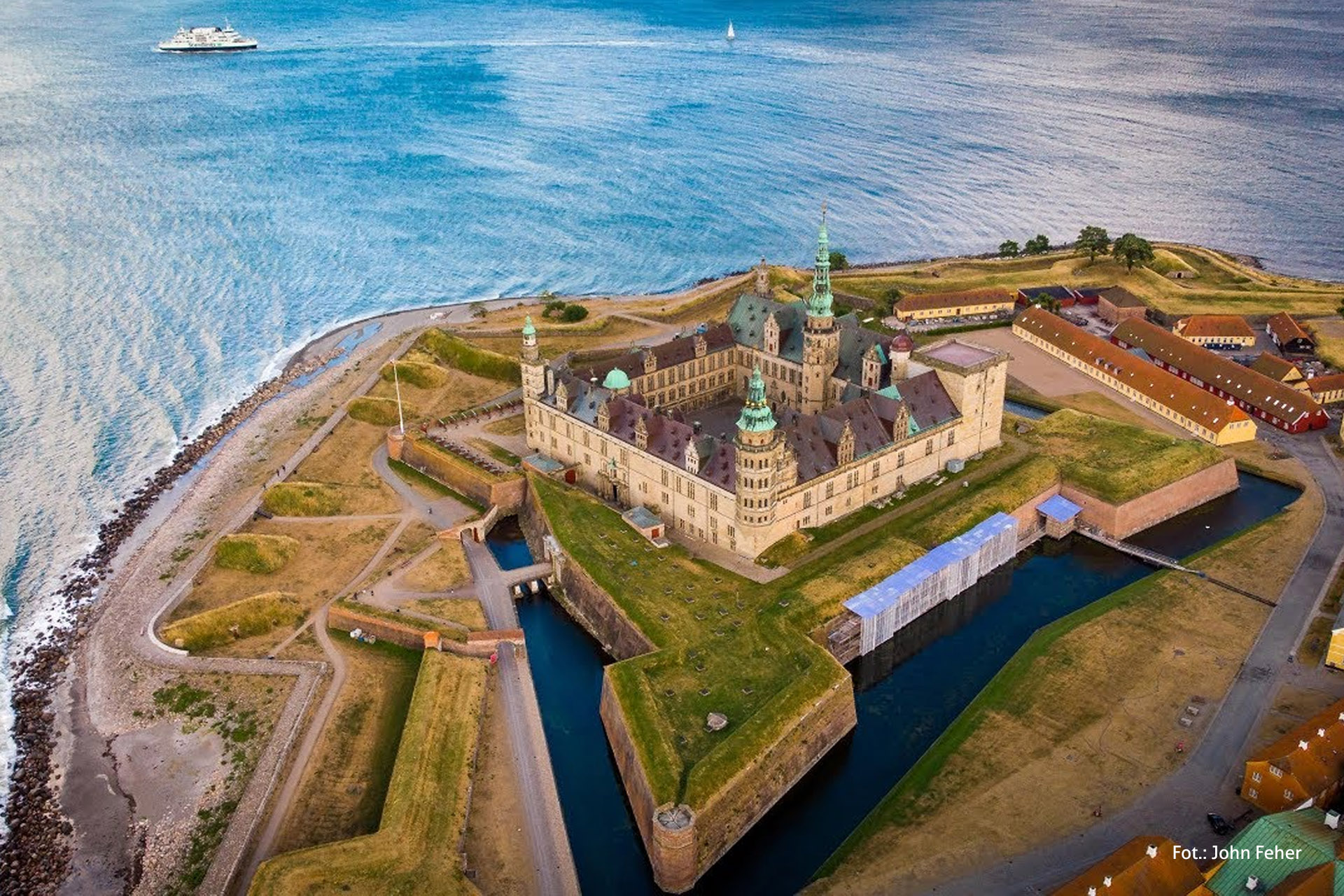 Zamek Hamleta, Kronborg, wycieczka doDanii