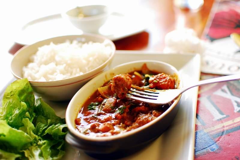 Curry - jedzenie naMauritiusie