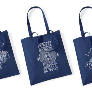 Bawełniane torby podróżnicze Apetyt na Świat, na wycieczkę, na zakupy, na codzień