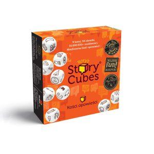 Story Cubes - kości opowieści - gra idealna na podróż, pudełko