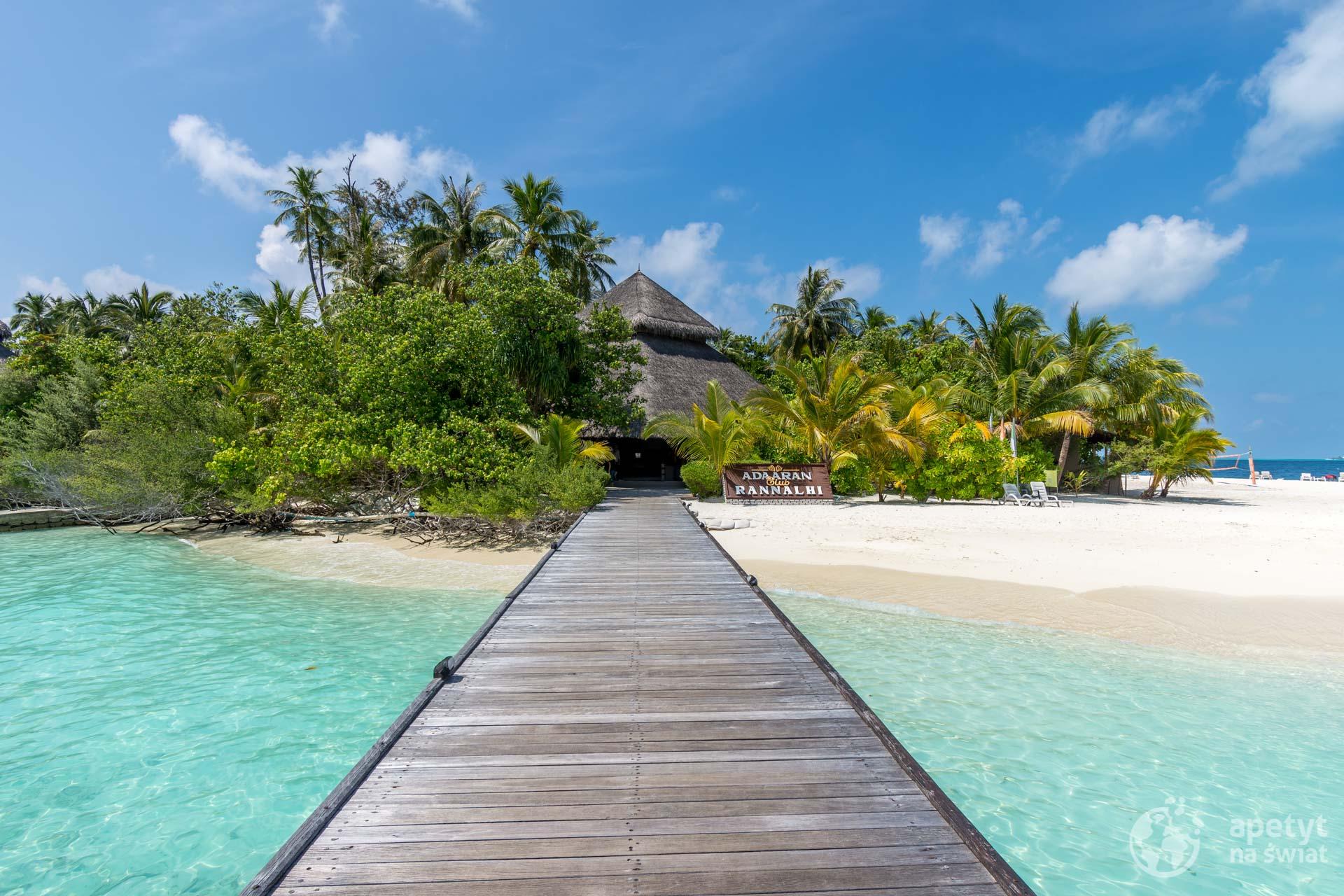 Malediwy - chata nawyspie