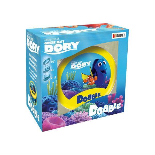 Rebel - Dobble - Gdzie jest Dory - pudełko