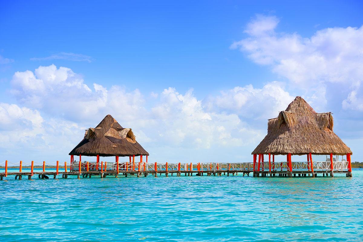Meksyk - laguna de Bacalar