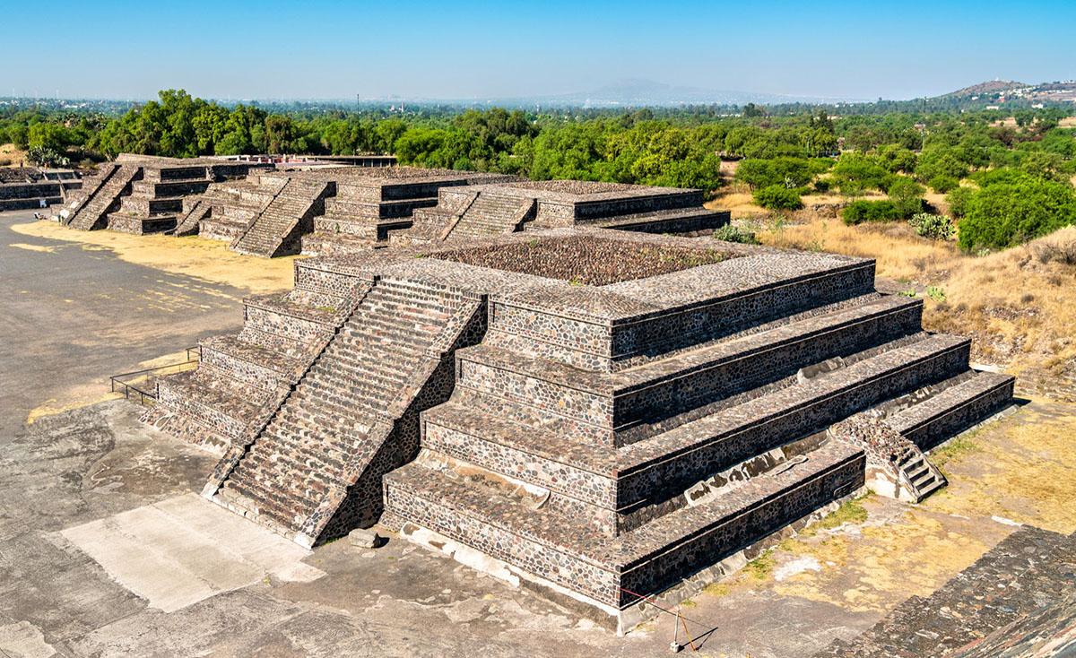 Meksyk - ruiny Teotihuacan