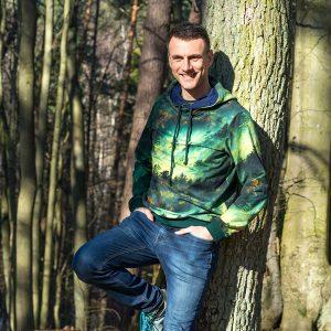 Apetyt na Świat - Bluza męska OTUL SIĘ LASEM