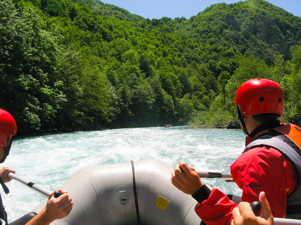 Czarnogóra - rafting narzece Tara
