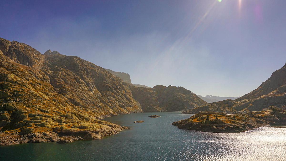 Pireneje - jezioro