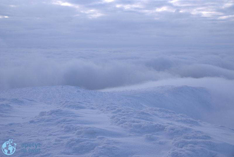 Babia Góra w zimowej szacie