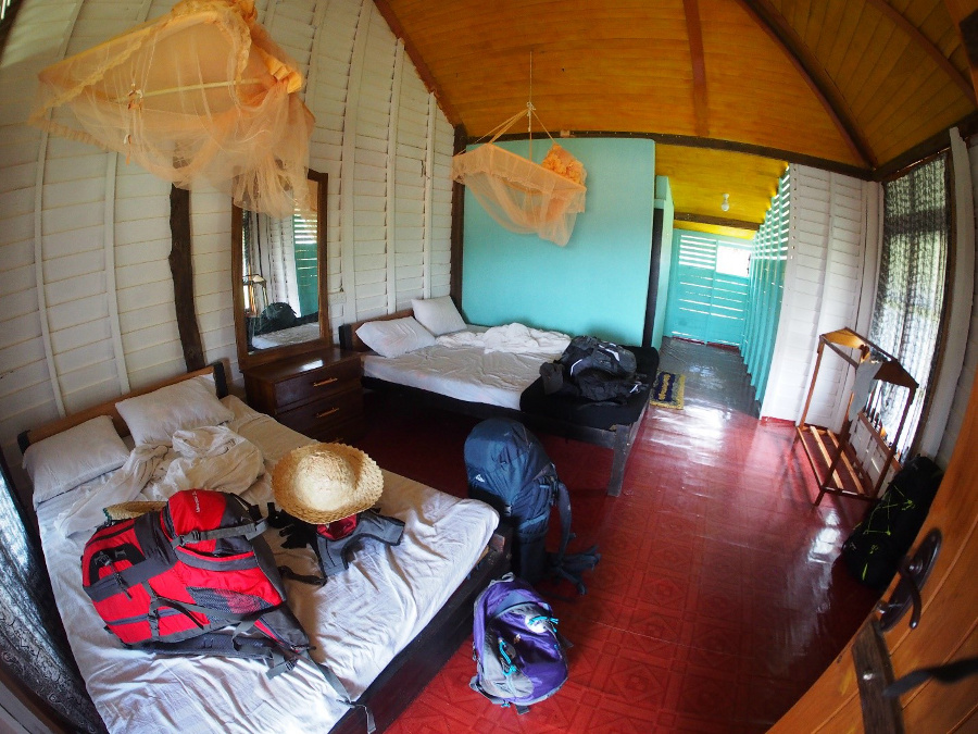 Sri Lanka, cabana wTangalle
