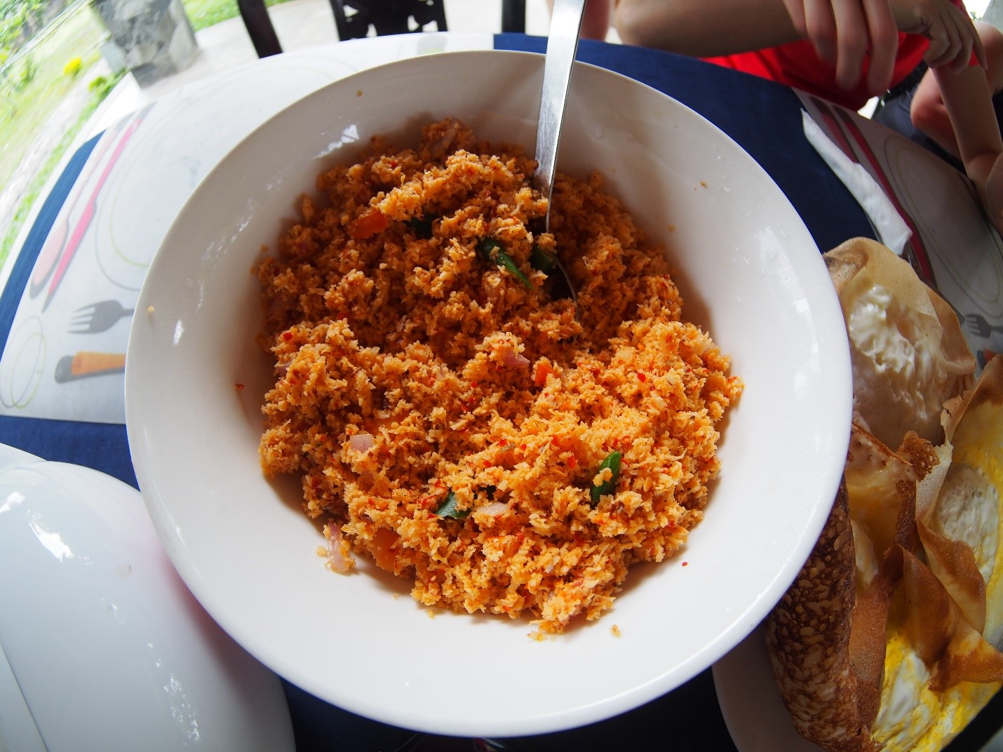 Sri Lanka, śniadanie - curry