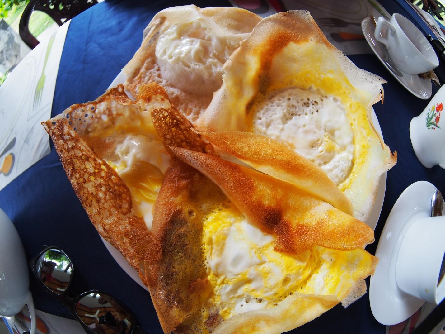Sri Lanka, śniadanie - egg hoper